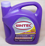Sintec ANTIFREEZE MULTI FREEZE 5кг АКЦИЯ 1кг бесплатно
